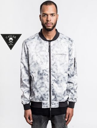 * CAYLER &SONS * * MA1 bomber jacket /NF-W