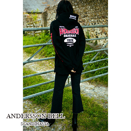 【ANDERSSON BELL】正規品16AW★UNBALANCE YOUTHパーカーBK/追跡