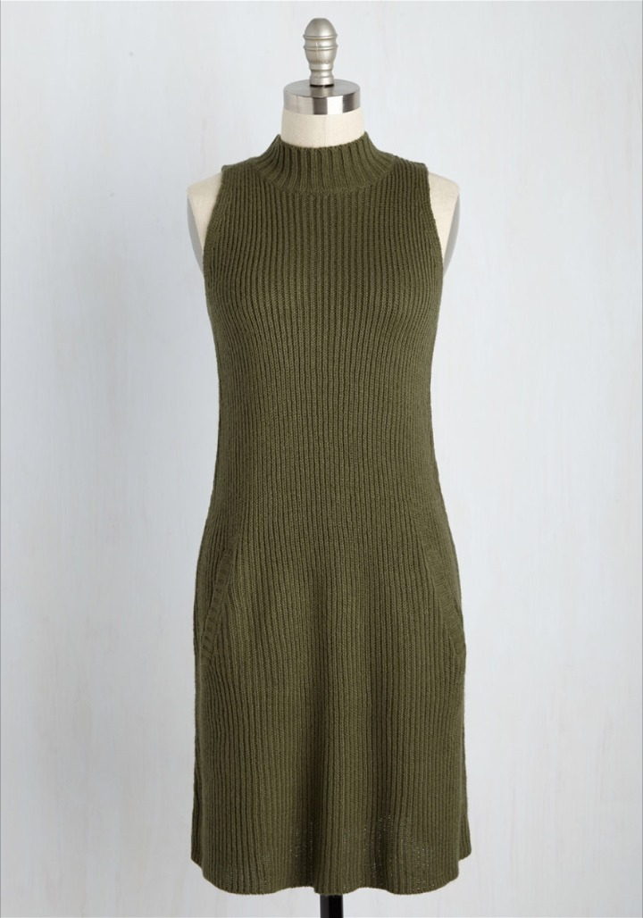 Modcloth★Just Keeps Getting Sweater Dress*ニットワンピ