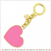 kate spade things we love heart ハート キーホルダー ピンク