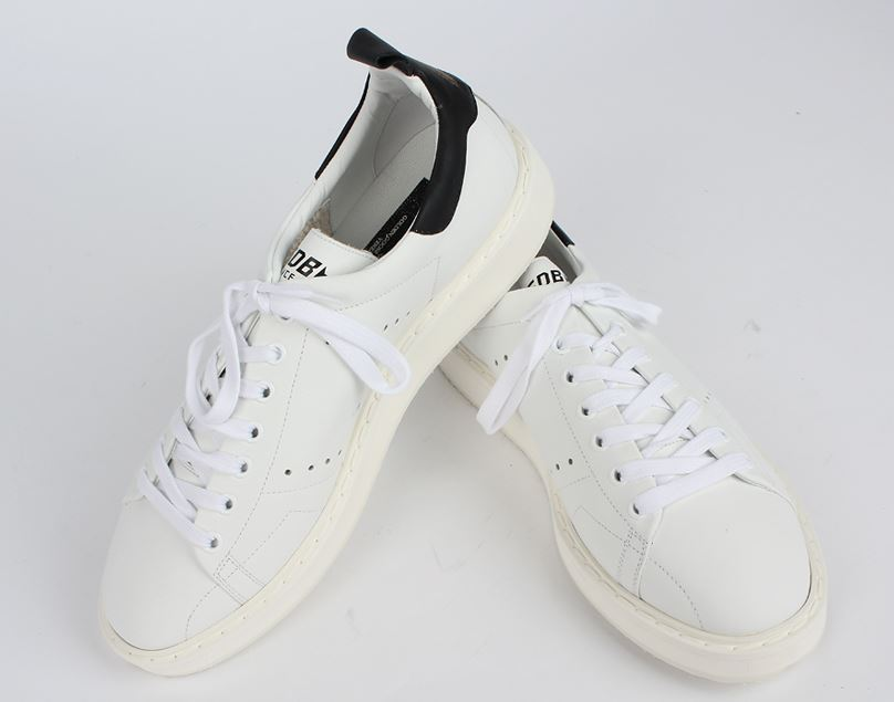 【関税負担】GOLDEN GOOSE 16AW STARTER  WHITE/BLACK