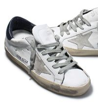【関税負担】GOLDEN GOOSE 16AW SUPERSTAR  WHITE/NAVY