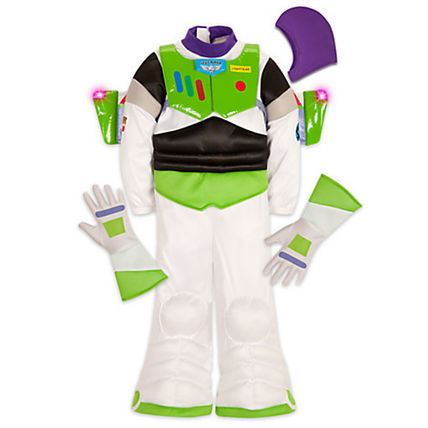 新作 Buzz Lightyear Light-Up Costume for Kids