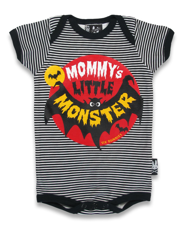 Six Bunnies シックスバニーズ ロンパー  MOMMY'S LITTLE MONSTE