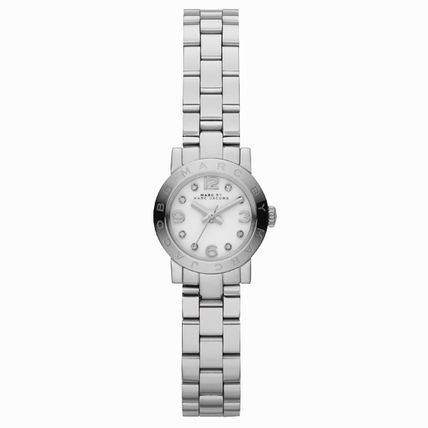 Marc Jacobs Watch Womens Amy silver mbm3885
