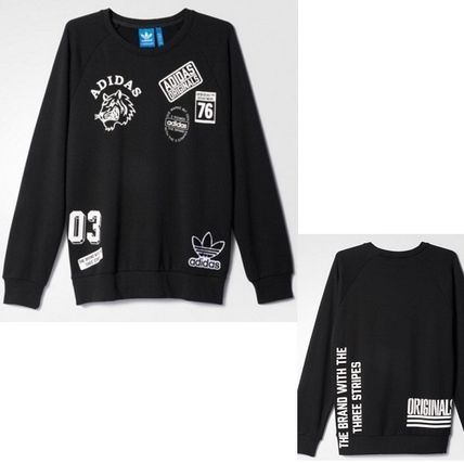 adidas スウェット・トレーナー ADIDAS Men's Originals☆LOGO CREW SWEATSHIRT AY8632