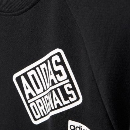 adidas スウェット・トレーナー ADIDAS Men's Originals☆LOGO CREW SWEATSHIRT AY8632(5)