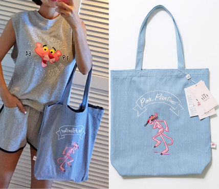 IMVELY PINK PANTHER COLLABO★エコバッグ