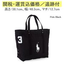 【Ralph Lauren定番】 Big Pony Canvas Tote RMBN0423M