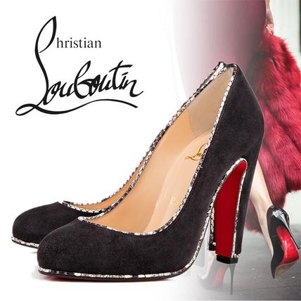Christian Louboutin Loulou Veau Velous/watersnake パンプス