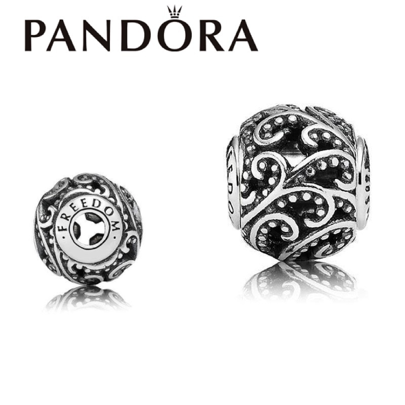 激レア!!PANDORA/ ESSENCE COLLECTION Freedom Charm
