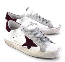 【関税負担】GOLDEN GOOSE 16AW SUPERSTAR WHITE PURPLE