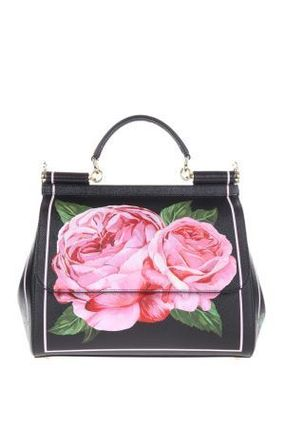*有名人愛用*miss sicily bag in rose printed dauphine バッグ