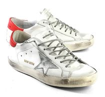 【関税負担】GOLDEN GOOSE 16AW SUPERSTAR WHITE RED