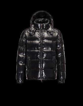 Hooded down jacket MAYA's multi-colored with MONCLER2016/17