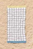 "SALE ""urban outfitters"" Printed Grid Perfect Beach Towel"