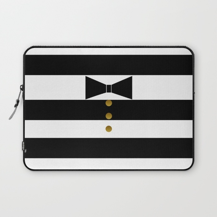 society6☆Bow Tie/Girly Trend☆パソコンケース/送込
