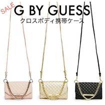 G BY GUESS☆セール☆Taylor キルトクロスボディスマホケース