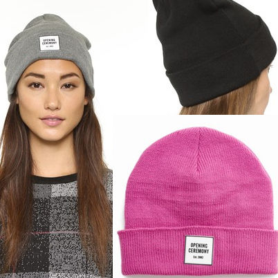 Opening ceremony knit hat Beanie logo Hat