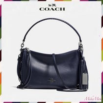 最安!COACH☆Fringe Chelsea Crossbody in Pebble Leather 37740
