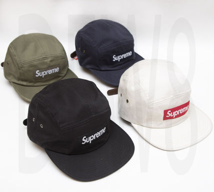 Supreme Wash Chino Twill Camp Cap 16AW シュプリーム Box Logo