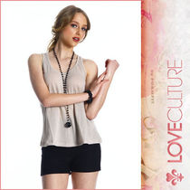 送料込★即日発送 LA発!「LOVE CULTURE」BACK RUFFLED LACE TANK