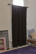 "SALE ""urban outfitters"" Plum & Bow Blackout Pompom Curtain"