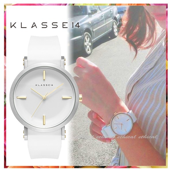 【送料税関込】KLASSE14 IMPERFECT ALL ROUND WHITE 41mm 人気♪