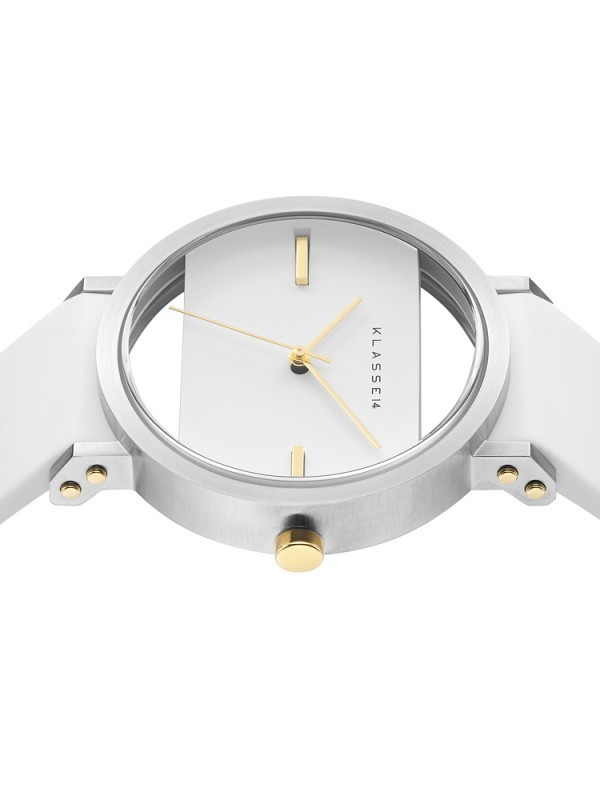 【送料税関込】KLASSE14 IMPERFECT SQUARE WHITE 41mm 人気♪