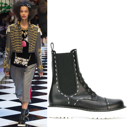 16-17AW DG710 LOOK18 SIDE-GORE BOOTS