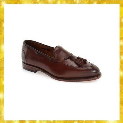 Allen Edmonds Acheson Tassel Loafer Dark Chili Burnished