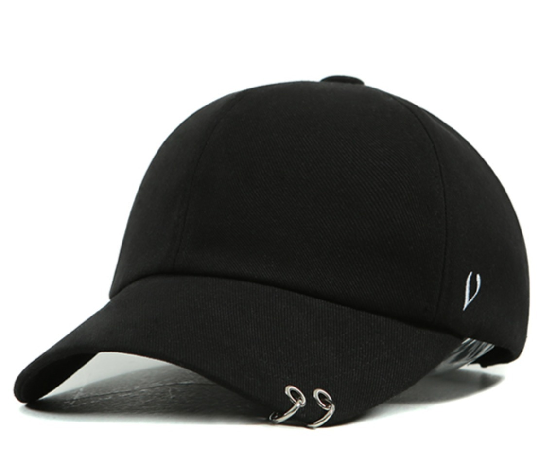 BLACK LINE - TWIN RING BALL CAP 関税込★国内発