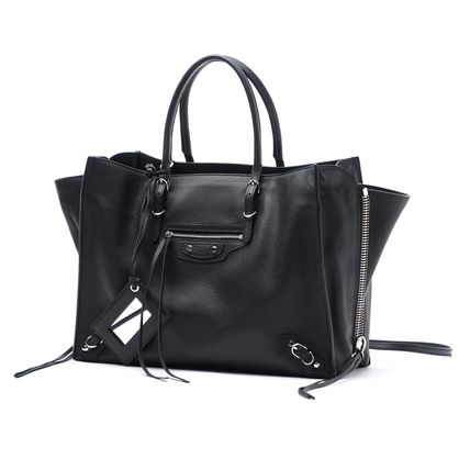 BALENCIAGA PAPER ZA B4 VEAU BALTIMORE 2WAY tote bag