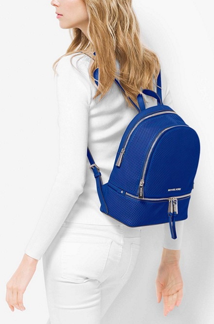送料込み!Michael Kors Rhea Zip Medium Backpack
