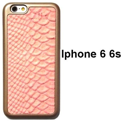 mabba iPhone・スマホケース Snake Strawberry iPhone 6 6s case iphone6s 革ケース 即納
