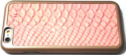mabba iPhone・スマホケース Snake Strawberry iPhone 6 6s case iphone6s 革ケース 即納(3)