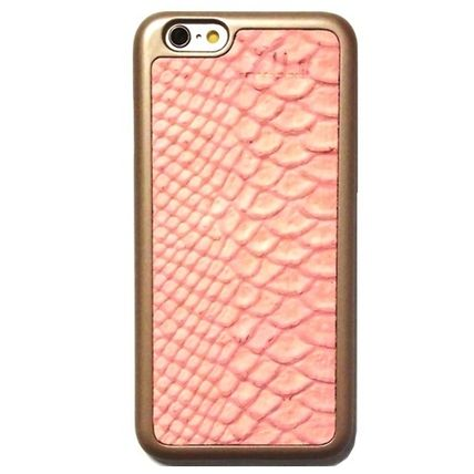 mabba iPhone・スマホケース Snake Strawberry iPhone 6 6s case iphone6s 革ケース 即納(4)