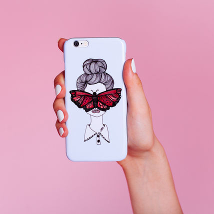 Valfre iPhone・スマホケース アウトレット BUTTERFLY IPHONE 6plus/6splus ケース 箱無し即納(2)