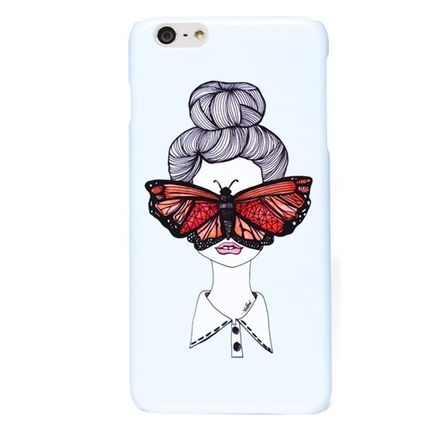 Valfre iPhone・スマホケース アウトレット BUTTERFLY IPHONE 6plus/6splus ケース 箱無し即納(3)