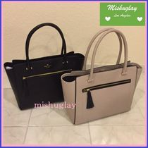 【kate spade】9月発表★可愛いタッセル付♪A4収納トート'allyn'