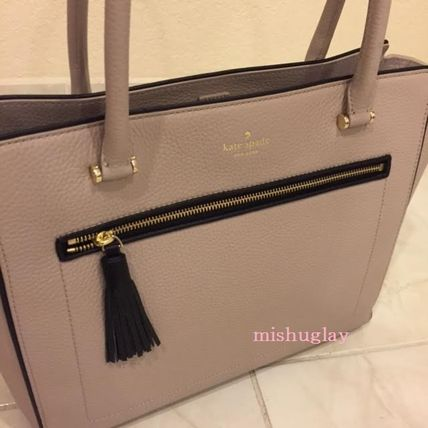 kate spade new york トートバッグ 【kate spade】9月発表★可愛いタッセル付♪A4収納トート'allyn'(14)