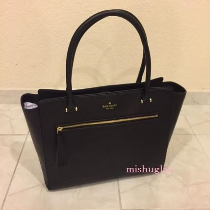 kate spade new york トートバッグ 【kate spade】9月発表★可愛いタッセル付♪A4収納トート'allyn'(2)
