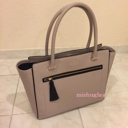 kate spade new york トートバッグ 【kate spade】9月発表★可愛いタッセル付♪A4収納トート'allyn'(9)