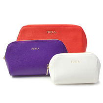 フルラ ELECTRAL COSMETIC CASE SET ポーチ EL95 ARANCIO