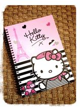 claire's(クレアーズ) 書籍その他 Hello KITTY × エッフェル塔 ノート Claire's パリ限定♪