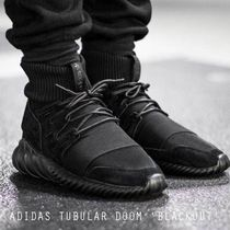 "ADIDAS Tubular Doom Triple Black ""Blackout"" 日本完全完売"
