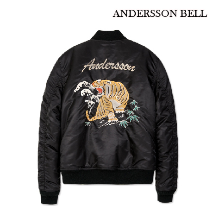【ANDERSSON BELL】限定数量★TIGER BOMBERスカジャン/追跡付