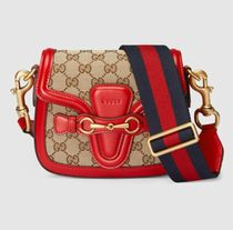 GUCCI★セール★SMALL LADY WEB GG CANVAS