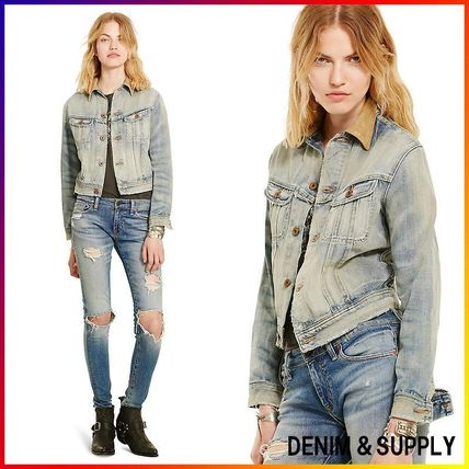 Denim&Supply☆D&S WEBSTER CROPPED JACKET 関税/送料込