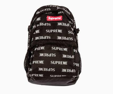 16AW Supreme 3M Reflective バックパック 黒